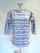 cotton printed Aztec top