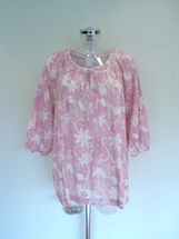 flower patterned cotton top